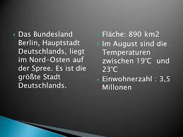 größte stadt deutschlands fläche reise durch eine hauptstadt deutschsprachiger länder ppt