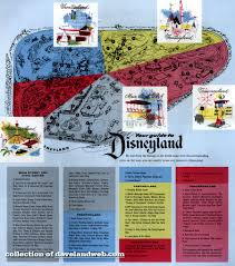 Bank Of America Map by Daveland Disneyland Brochures Maps And Tickets