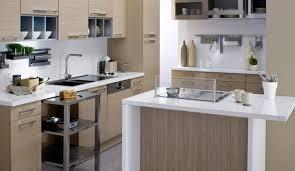 cuisine beige et taupe couleur cuisine avec carrelage beige idées décoration intérieure
