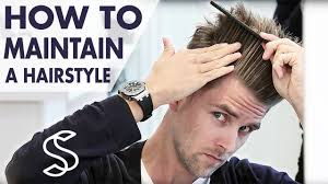 how to maintain a hairstyle undercut and volume men u0027s hair