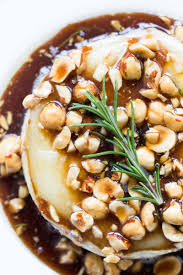 honey hazelnut baked brie recipe simplyrecipes com