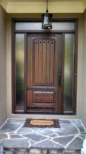 Frosted Glass Exterior Doors by Astonishing Home Exterior Inspiring Design Featuring Impeccable