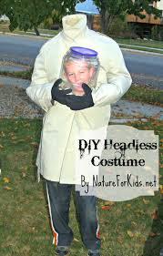 halloween costumes com coupon code diy headless halloween costume using backpack nature for kids