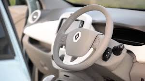 renault 4 pope renault zoe electric car review 2014 car review youtube