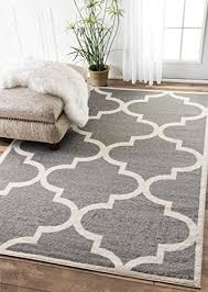 Geometric Area Rug Contemporary Moroccan Trellis Geometric Grey Area Rugs 4 By