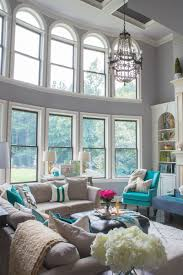 Stylish Living Room by How To Add A Pop Of Color Teal Living Rooms And Traditional
