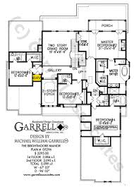 House Plans With Covered Porch Brightmoore Manor House Plan House Plans By Garrell Associates Inc