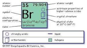 bromine chemical element britannica com