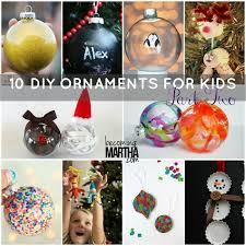 diy ornaments for to make part two becoming martha