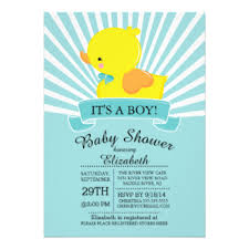 duck baby shower invitations duck baby shower invitations announcements zazzle