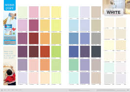 nippon paint easy wash with teflon colour chart nippon paint