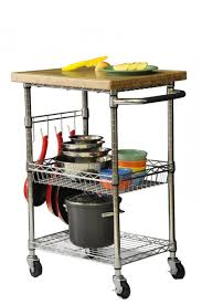 36 Kitchen Island by Folding Rolling Cart Image Is Loading Shopping Trolley Folding