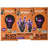 amazon com halloween orange color colored light bulb lite party amazon com 70 watts u0026 above black light bulbs light bulbs
