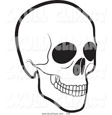 halloween clipart free black and white royalty free black and white stock skull designs page 3