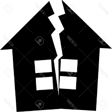House Silhouette by Best 15 Black Silhouette Broken House Clipart And Cdr