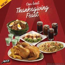 max s restaurant thanksgiving feast for only php999 until nov 15