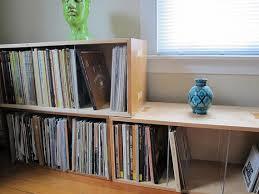 Ideas For Maple Bookcase Design Custom Single Bookshelf Bookcase Record Lp Bin Storage Shelf