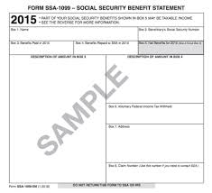understanding your tax forms 2016 ssa 1099 social security benefits