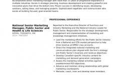Senior Marketing Manager Resume Sample by Resume Cover Letter Samples For Massage Therapist Massage