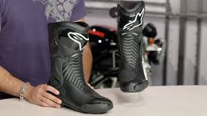 buy motorcycle waterproof boots alpinestars smx 6 wp boots review at revzilla com youtube