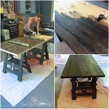 How To Build A Trestle Table Diy Pipe Table Tutorial How We Saved 1 800 Designer Trapped