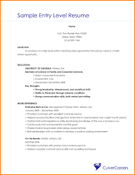 Best It Resume by Sample Entry Level It Resume Free Resume Example And Writing