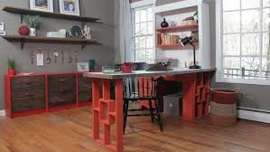 How To Build An L Shaped Desk Diy L Shaped Desk Knock It The Live Well Network