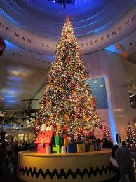 charlie brown christmas lights charlie brown christmas tree picture of museum of science and