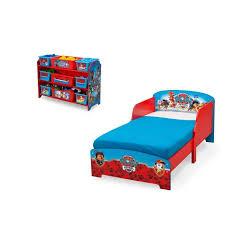chambre enfant cdiscount pat patrouille chambre enfant en bois lit et meuble de rangement