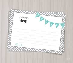 little man baby shower game baby shower advice card mom dad