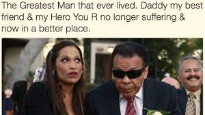 muhammad ali family breaks silence on with tribute