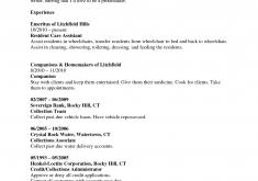 Example Cna Resume by Cna Resume Objectives Certified Nursing Assistant Resume Examples
