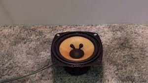 rca 80 watt home theater speaker system rca rt2250 sound test youtube