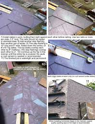 Hips Roof Traditional Roofing Magazine Slate Saddle Hips And Ridges