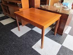 dark brown scandinavian teak dining room furniture with square most seen