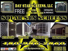 Solar Shades For Patio Doors by Sun Control U0026 Security Products By Day Star Screens Home