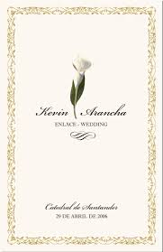 catholic wedding program cover wedding program exles catholic wedding program wedding