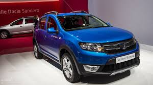 renault sandero stepway 2013 dacia opens order books for sandero stepway priced at u20ac10 590
