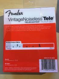 fender vintage noiseless telecaster pickups reverb