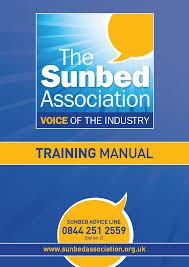 the sunbed association shop