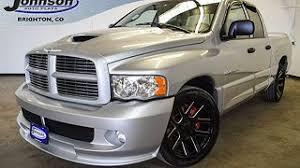 1500 dodge ram used used dodge ram 1500 srt10 trucks for sale