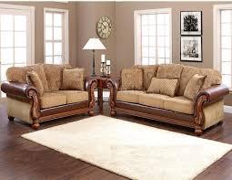 Sofa Brand Reviews by Multi Tone Fabric Classic Sofa U0026 Loveseat Set W Options