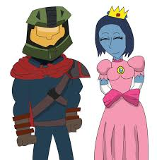 halloween costume 1 master chief and cortana by alienhominid2000