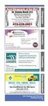 2017 business card directory paulding county progress