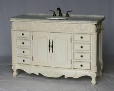 54 Inch Bathroom Vanity Single Sink Antique Bathroom Vanity Ebay