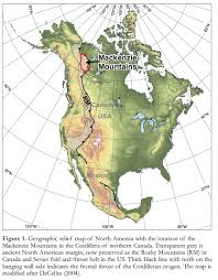 Canada And Usa Map by Canada Landforms And Land Statistics Hills Lakes Mountains Plains