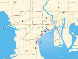 Tampa Airport Map New Waterfront Condos In Tampa On Bayshore Blvd At The Virage
