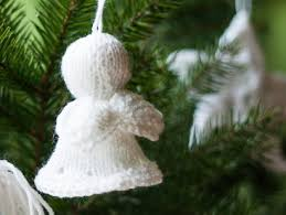 Angel Decoration For Christmas by Christmas Tree Angel A Free Christmas Ornament Knitting Pattern By