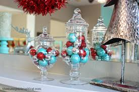 trend turquoise and red christmas decorations 34 for with