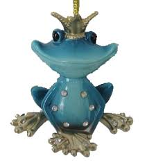 december diamonds ornament frog prince blue home page